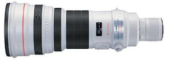 Canon EF 600mm Super Telephoto Lens