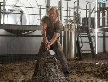 In 'Thor,' the Norse god was seemingly reduced to something akin to a regular man when he lost Mjoln...