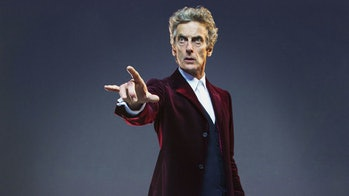 Peter Capaldi in 'Doctor Who'