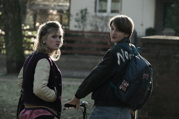 Katharina and Ulrich as teenagers in 1986.