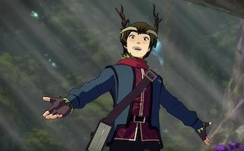 dragon prince season 3 trailer release date elf callum