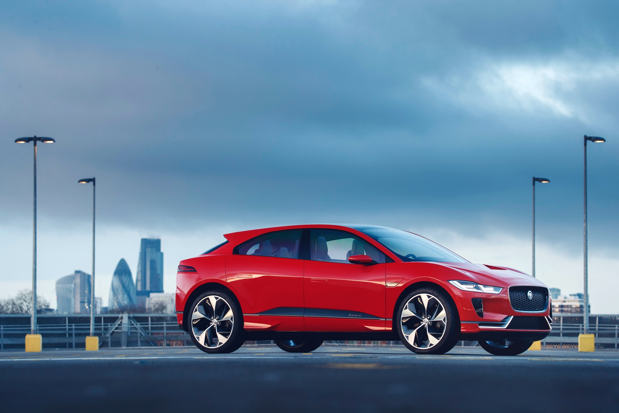 The I-Pace concept.
