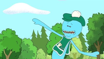 """'Rick and Morty' Mr. Meeseeks from """"Meeseeks and Destroy"""""""