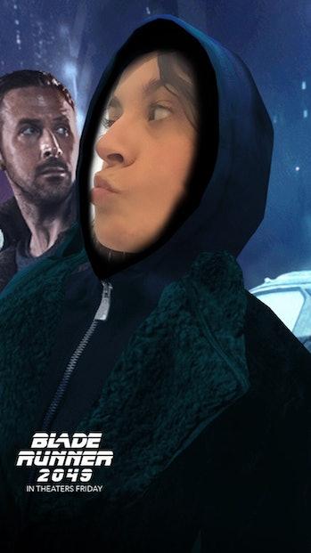 Blade Runner snapchat
