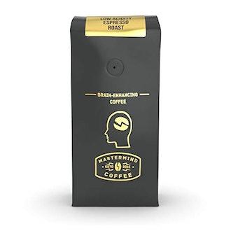 Mastermind CoffeeAlkaline Buzz Brain Enhancing Ground Espresso Roast