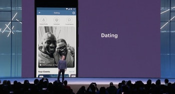 facebook f8 dating key note mark zuckerberg