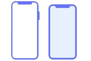 iphone x plus leak apple ios 12 beta symbol