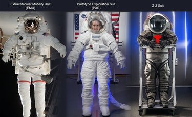 NASA spacesuits