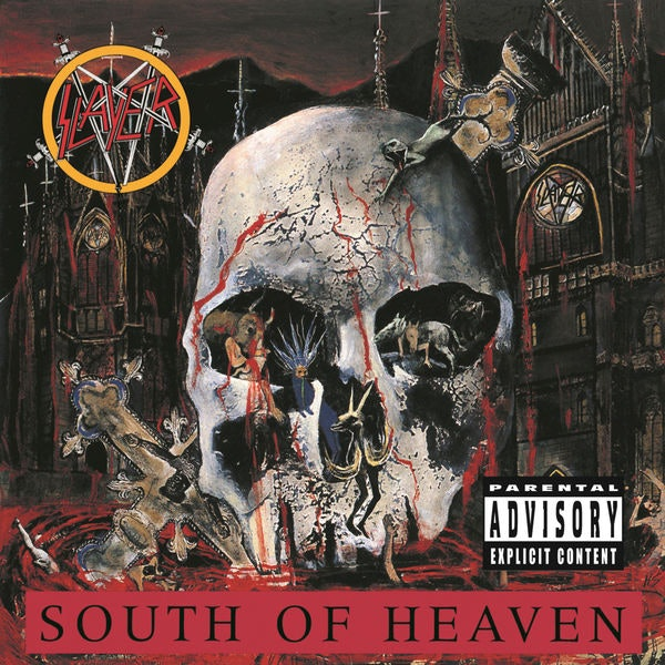 Slayer South of Heaven Album Art