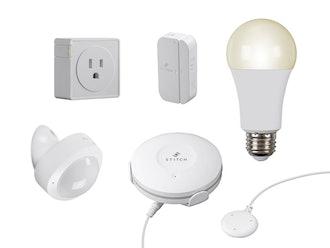 STITCH by Monoprice Wireless Smart Home Starter Kit, 5-Piece