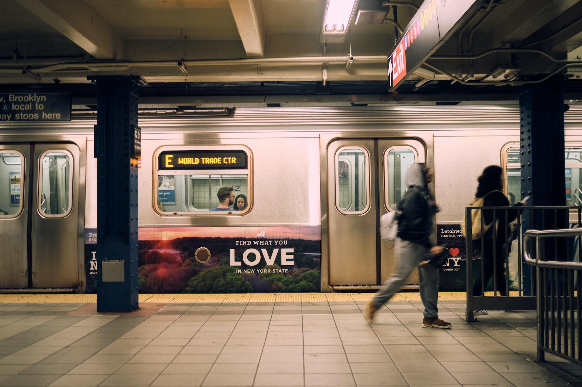 The New York City subway: ready for UWB?