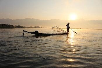 fisherman, Mynamar