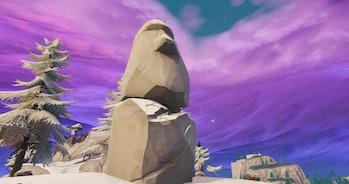 fortnite stone head