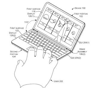 Microsoft patent diagram that may demonstrate Andromeda.