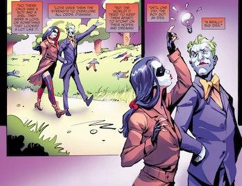 Injustice Ground Zero Comic Harley Quinn Joker