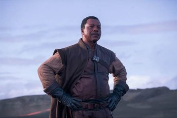 Carl Weathers in 'The Mandalorian'