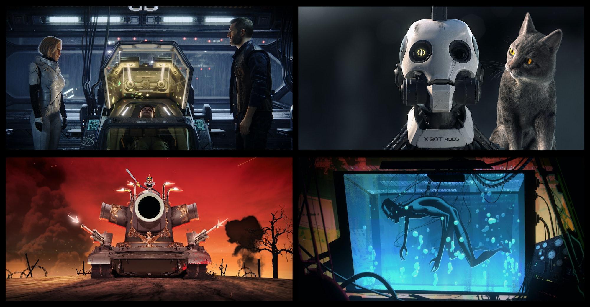 Love, Death and Robots Netflix
