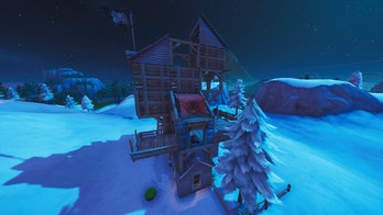 Fortnite Season 8 Pirate Camp Snow