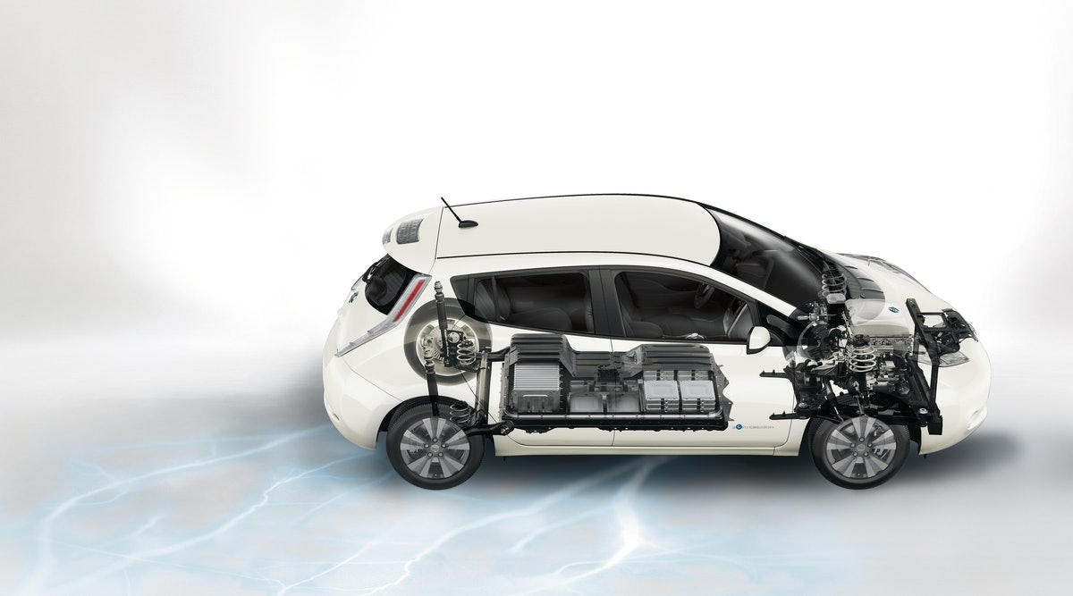 2017 Nissan Leaf cutaway