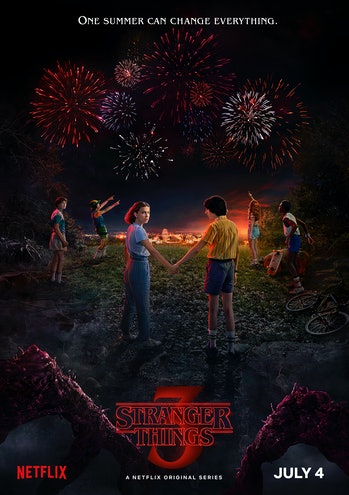 stranger things netflix season 3 poster