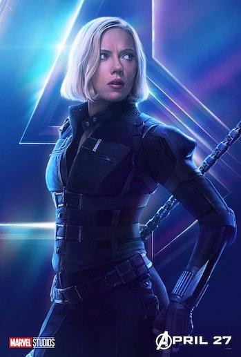 Black Widow Avengers Endgame