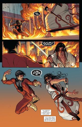 Shang-Chi Avengers World