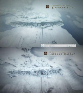 the 'Game of Thrones' title sequence holds clues about the White Walkers in Season 7
