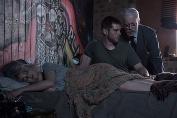 Brian J. Smith. Tuppence Middleton, and Terance Mann in Sense8 Season 2