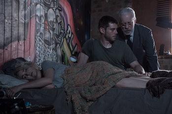 Brian J. Smith. Tuppence Middleton, and Terance Mann in Sense8 Season 2