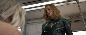 'Captain Marvel' Punches Old Lady