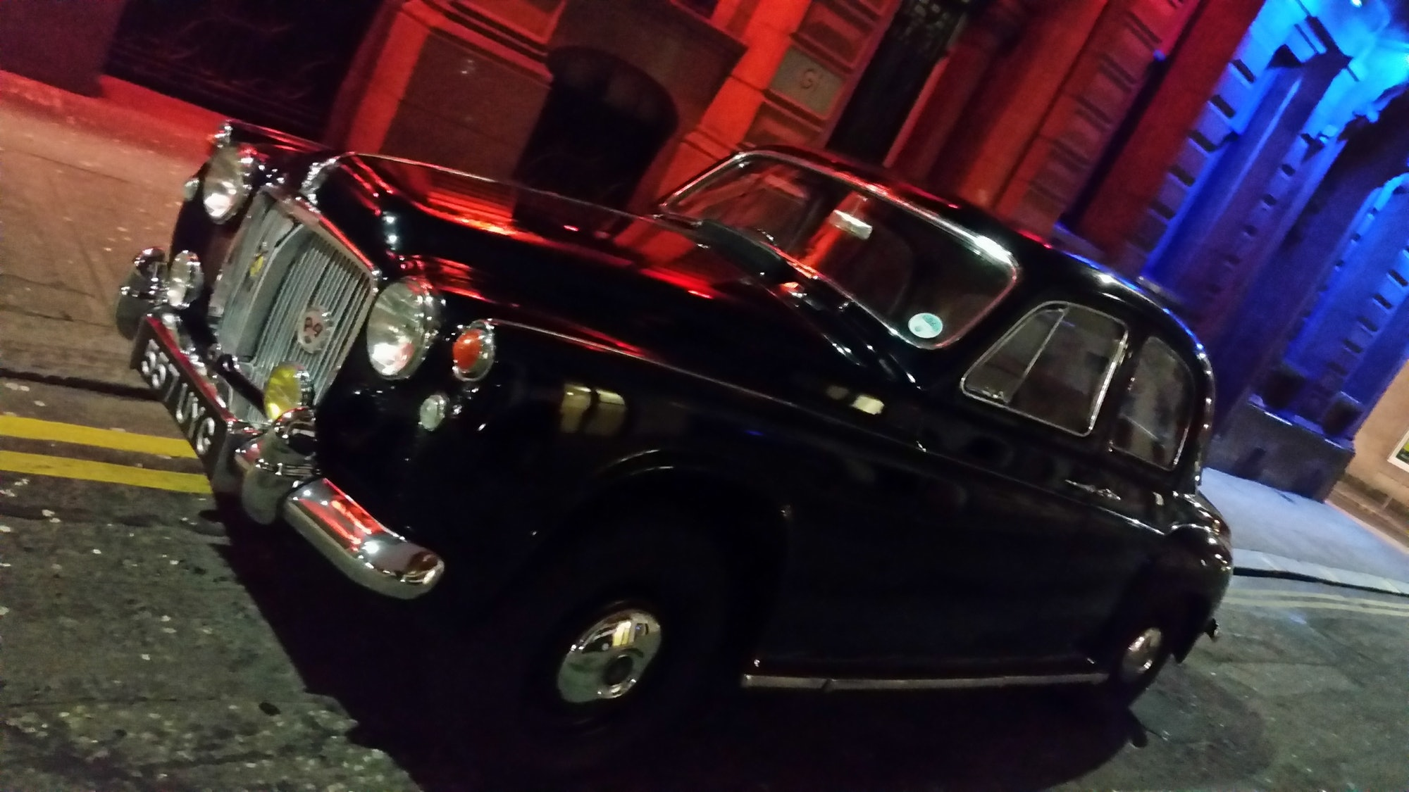 Rover P4 in United Kingdom