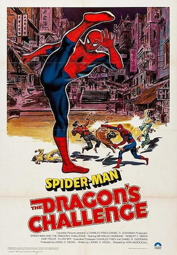 marvel movies spider man 3 dragons challenge review