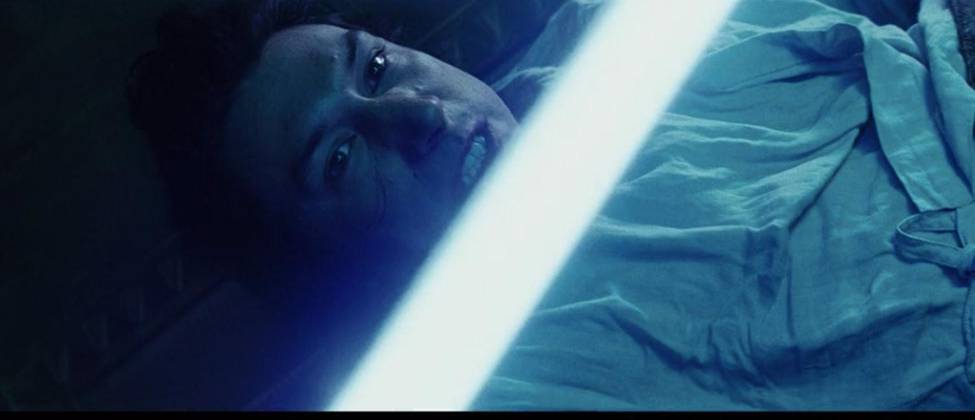 Ben in the flashback scene in 'The Last Jedi'.