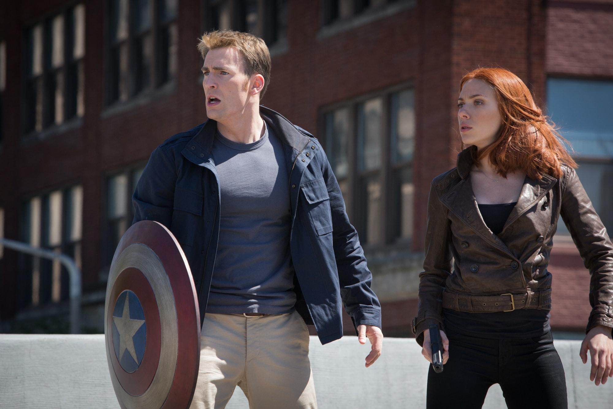 Captain America The Winter Soldier Black Widow