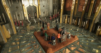 Black Panther Throne Room