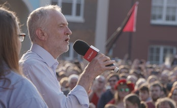 Jeremy Corbyn, leader of the Labour Party.