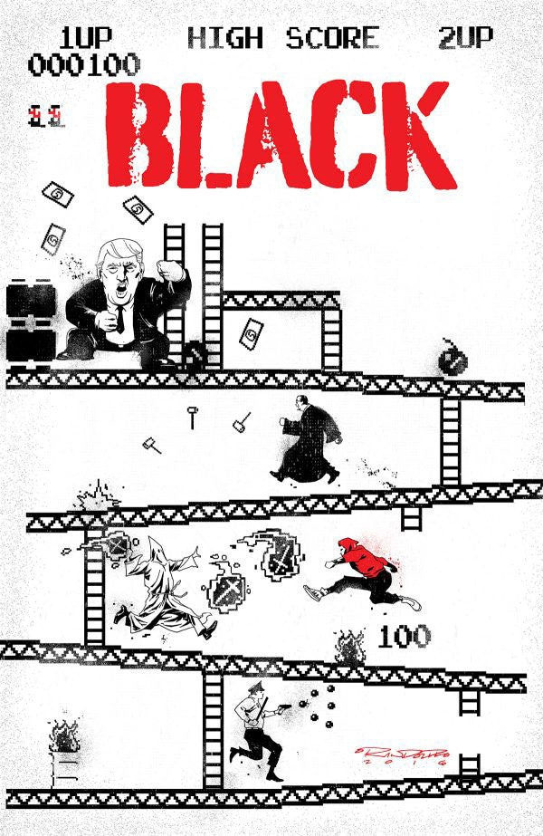 Cover for BLACK #4