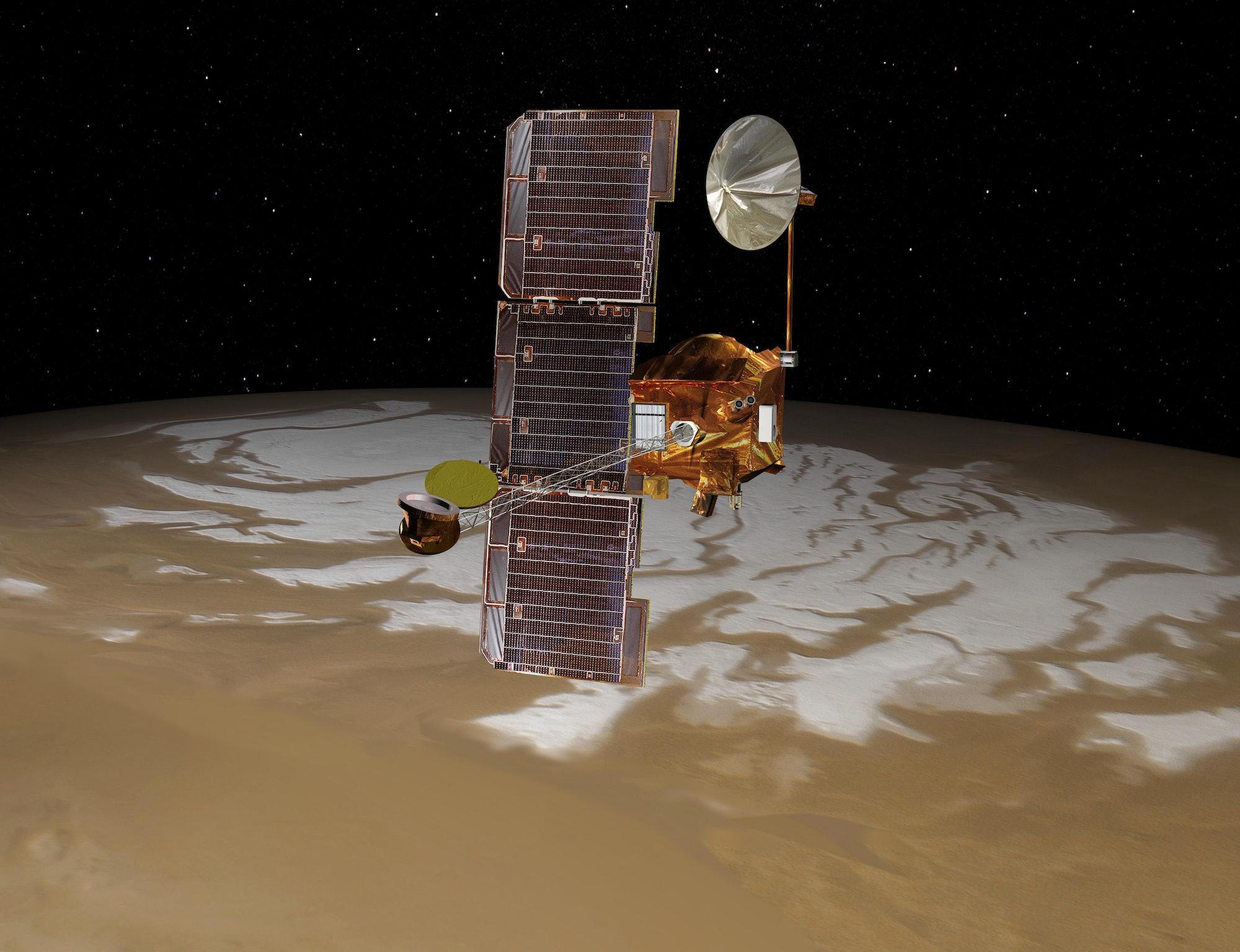 NASA Mars Odyssey