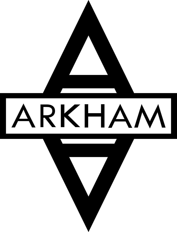 "ARKHAM ASYLUM 5.5"" Logo Decal DC COMICS BATMAN Sticker"
