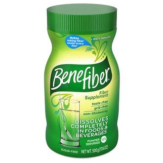 Benefiber Daily Prebiotic Dietary Fiber Supplement Powder for Digestive Health