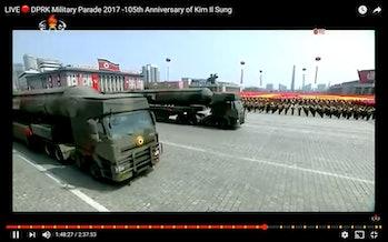 north korean TELs