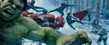 Age of Ultron Team-Up Shot