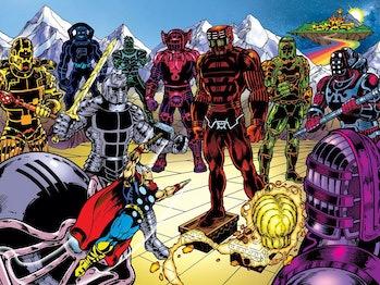 Celestials Marvel Infinity War