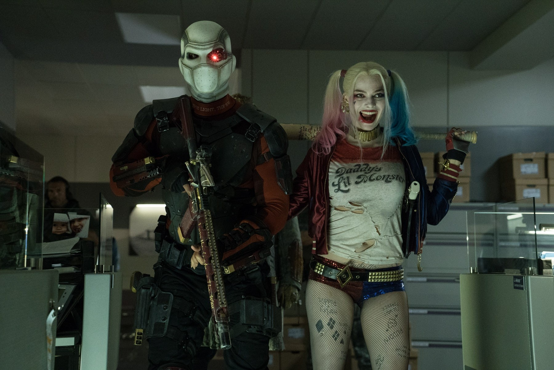 Deadshot Harley Quinn Suicide Squad