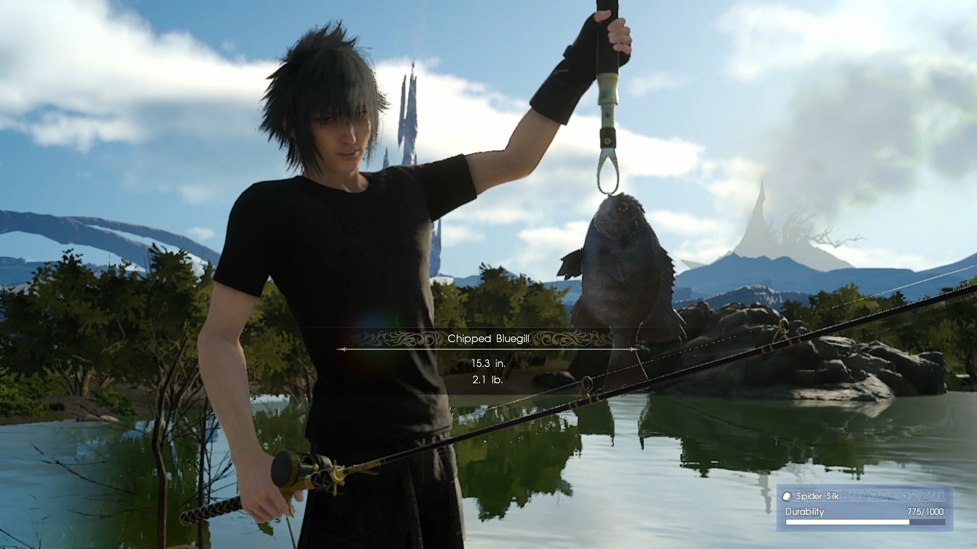 'Final Fantasy XV' really pulls out all the stops.