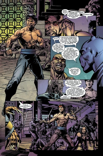 Black Panther Shang-Chi Luke Cage