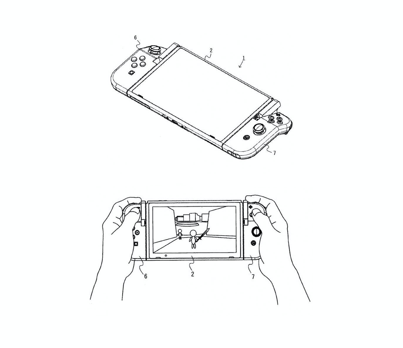 nintendo switch joy con patent