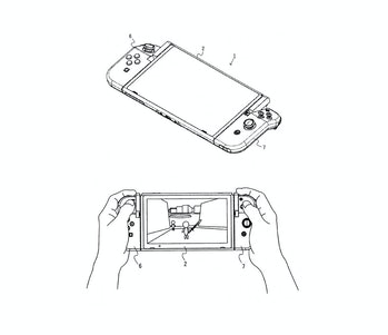 nintendo switch joy con patent