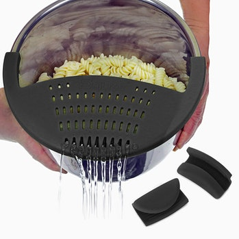 Salbree Silicone Snap Strainer