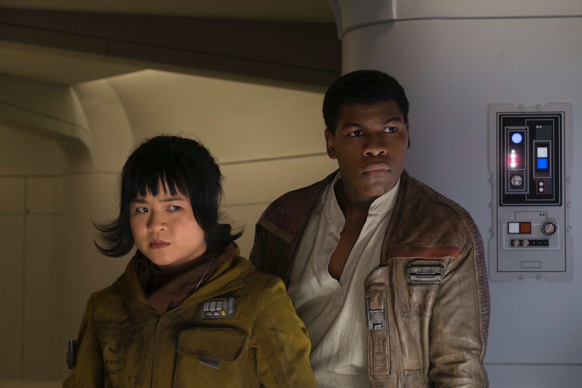 Star Wars The Last Jedi John Boyega Kelly Marie Tran